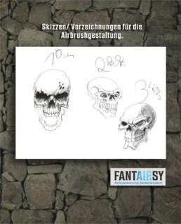 Skull-airbrush-tank-fantasy